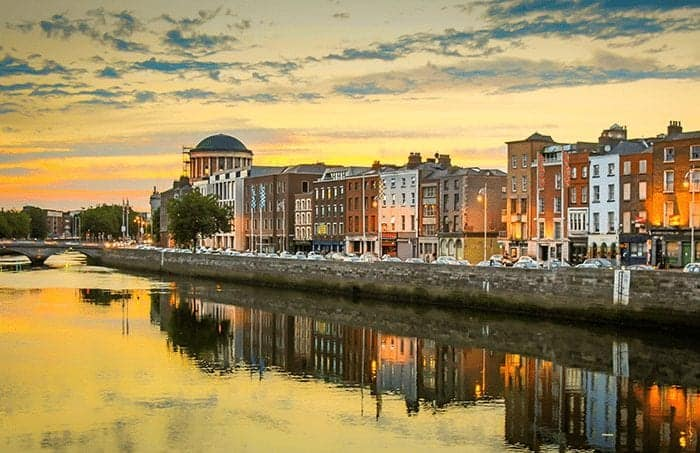 Portrait of country where you can get Dublin Refurbished iPhones