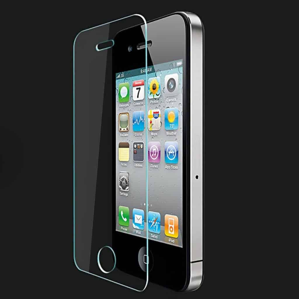 tempered glass iphone 4 4s refurbiphones. Black Bedroom Furniture Sets. Home Design Ideas